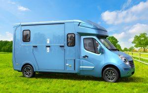 Camion Paragan Excelsion bleu